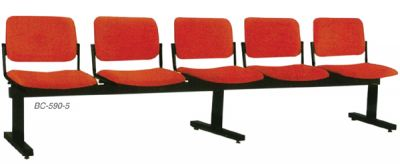 BC 590-5-5 Seater Link Chair
