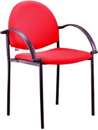 BC 730A-Stackable Chair with Armrest