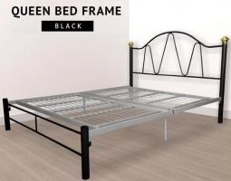 EV BY9021- 3V Queen Size Metal Bed