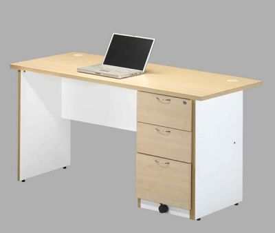 EA OA5028+F21- Writing Table with Pedestal