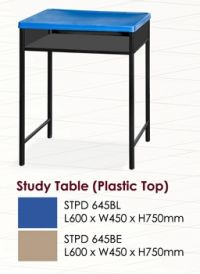 STPD 645- Student Table Plastic Top with Drawer