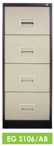 EG S106/AB- 4D FILING CABINET with RECESS HANDLE