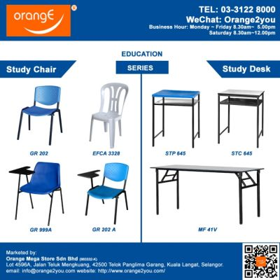 Education Furniture Supplier Malaysia| Orange Mega Store