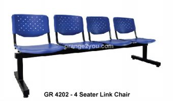 GR 4202-4 Seater Link Chair