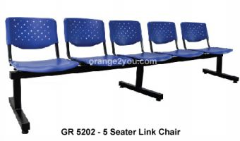 GR 5202 - 5 Seater Link Chair