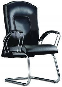 LT 113-Tauras Leather Visitor Chair