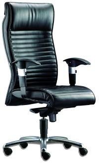 LT 120-Gemini Leather Highback Chair