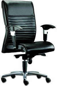 LT 122-Gemini Leather Mediumback Chair