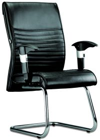 LT 123-Gemini Leather Visitor Chair