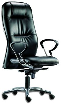 LT 140-Leo Leather Highback Chair
