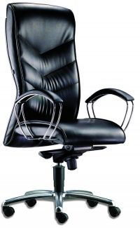 LT 160-Libra Leather Highback Chair