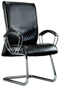 LT 163-Libra Leather Visitor Chair