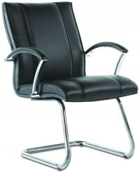 LT 185-Sagittaruis Leaher Visitor Chair