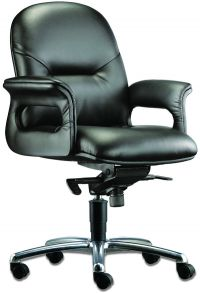 LT 212-Pisces Leather Mediumback Chair