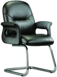LT 213-Pisces Leather Visitor Chair