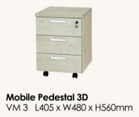 VM 3 - Mobile Pedestal 3 Drawers