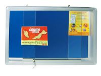 YGCF 430-4' x 3' Foam Board with Sliding Glass Frame
