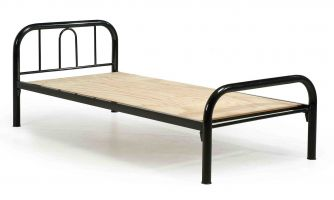EG SB6000- Single Metal Bed w. Plywood