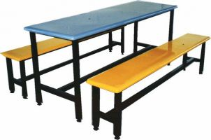 MCF 620S - Canteen Table & Bench 6 Seater