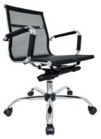 iBA 02NT - Bellona Mesh Black Lowback Chair