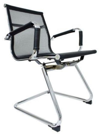iBA 03NT - Bellona Mesh Black Visitor Chair