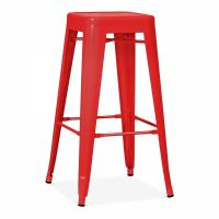 OC 107 - Tolix Metal Chair Bar Stool